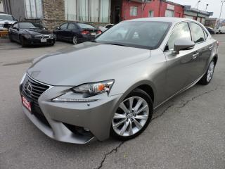 Used 2015 Lexus IS 250 Bluetooth | AWD | Leather for sale in BRAMPTON, ON