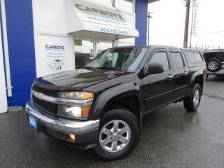 Used 2011 Chevrolet Colorado LT Z71 4x4 Crew, Rare 5.3L V8, Leather, Tow Pkg. for sale in Langley, BC
