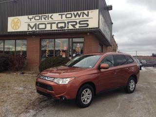 Used 2014 Mitsubishi Outlander SE|7 Passenger|V6|AWD|One Owner for sale in North York, ON