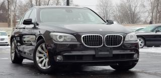Used 2011 BMW 7 Series CERTIFIED AWD NAVI BU CAMERA 750i xDrive for sale in Mississauga, ON