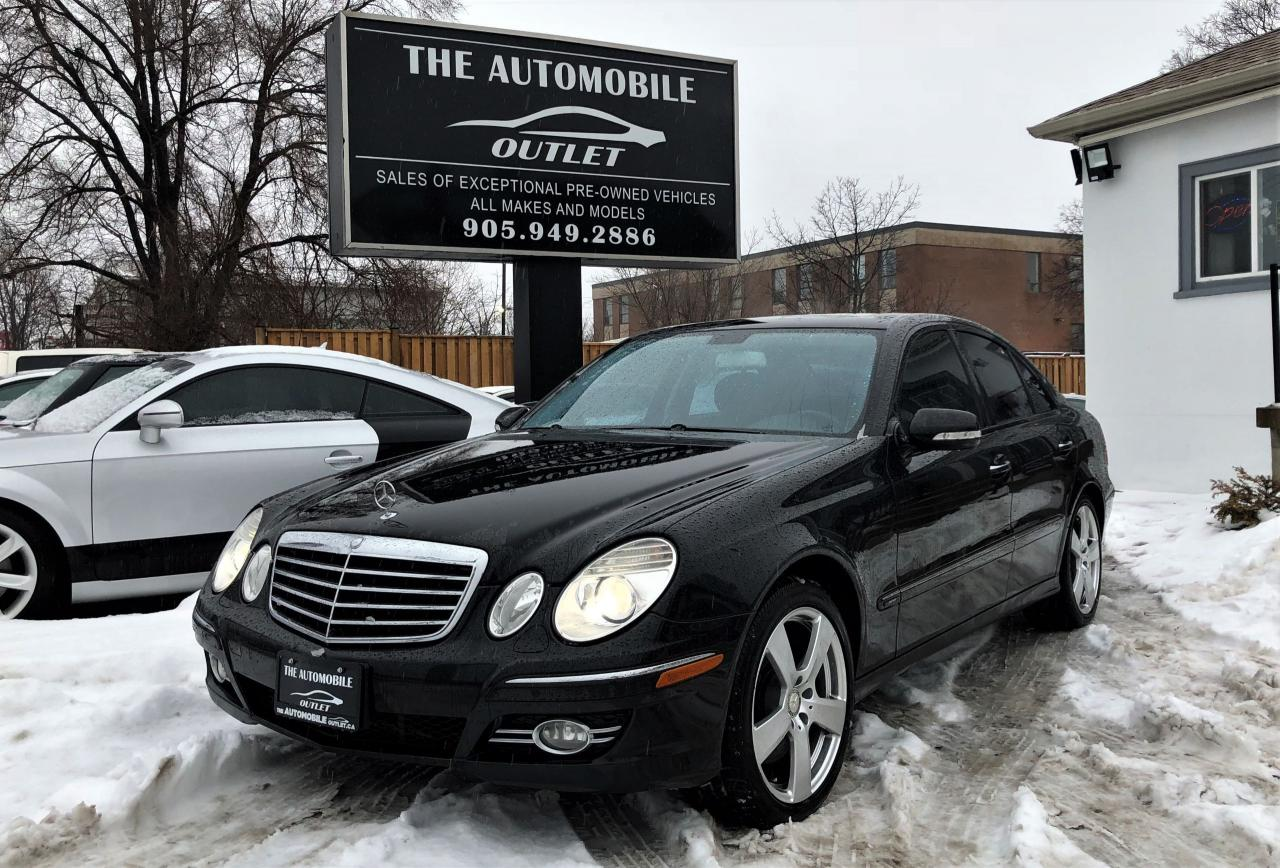 2009 Mercedes-Benz E300 3.0L 4MATIC NAVI LEATHER SUNROOF NO ACCIDENT