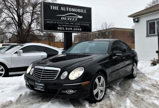 Used 2009 Mercedes-Benz E300 3.0L 4MATIC NAVI LEATHER SUNROOF NO ACCIDENT for sale in Mississauga, ON