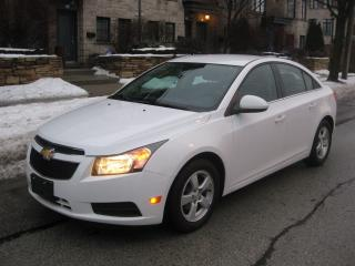 Used 2013 Chevrolet Cruze LT tURBO. LEATHER, BLUETOOTH, BACKUP CAMERA A1 CON for sale in Toronto, ON