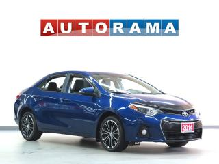 Used 2014 Toyota Corolla ALLOY RIMS BACK UP CAM NAVIGATION SUNROOF LEATHER for sale in Toronto, ON