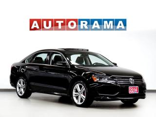 Used 2014 Volkswagen Passat 2.0 TDI HIGHLINE NAVIGATION LEATHER SUNROOF for sale in Toronto, ON