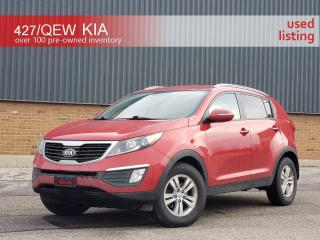 Used 2013 Kia Sportage LX | Heated Seat | Bluetooth | Cruise for sale in Etobicoke, ON