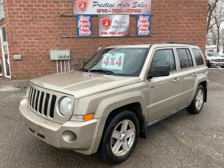 Used 2010 Jeep Patriot 4X4/CERTIFIED/WARRANTY INCLUDED for sale in Cambridge, ON