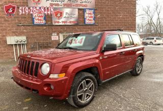 Used 2009 Jeep Patriot 4X4/NO ACCIDENT/CERTIFIED/WARRANTY INCLUDED for sale in Cambridge, ON