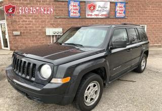 Used 2011 Jeep Patriot North/2.4L/NO ACCIDENT/CERTIFIED/WARRANTY INCLUDED for sale in Cambridge, ON