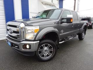 Used 2011 Ford F-350 Lariat 4x4, Crew 6.8 Box, Diesel, Leather, SLariat for sale in Langley, BC