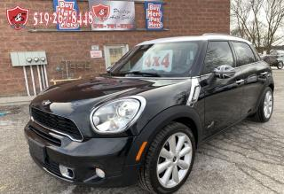 Used 2011 MINI Cooper Countryman S/ALL4/NAVI/CERTIFIED/WARRANTY INCL for sale in Cambridge, ON