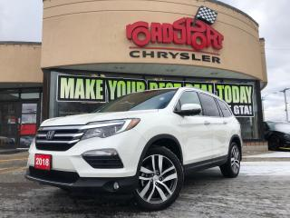 Used 2018 Honda Pilot Touring ONLY 691 KMS 7 PASS NAVI ROOF NO ACCIDEENT for sale in Toronto, ON