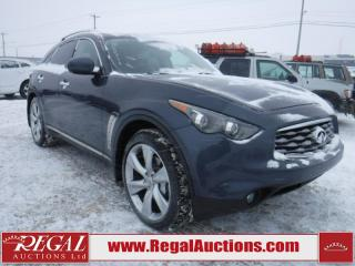 Used 2009 Infiniti FX50 S 4D UTILITY AWD for sale in Calgary, AB
