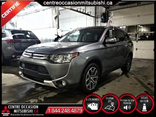 Used 2015 Mitsubishi Outlander GT S-AWC NAVI + CUIR + TOIT + SIEGES-ELE for sale in Blainville, QC