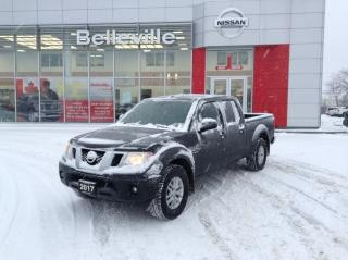 Used 2017 Nissan Frontier SV PREMIUM MOONROOF 4WD 1 OWNER LOCAL TRADE for sale in Belleville, ON