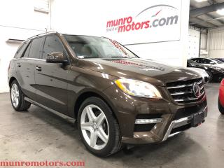 Used 2014 Mercedes-Benz ML-Class ML 350 BlueTEC Driver PKG Air Ride AMG for sale in St. George Brant, ON