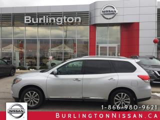 Used 2013 Nissan Pathfinder SL, PREMIUM PKG. for sale in Burlington, ON
