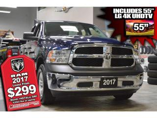 Used 2017 RAM 1500 ST / Lease From $299/MTH + TAX OAC for sale in Guelph, ON