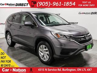 Used 2015 Honda CR-V SE| AWD| BACK UP CAMERA| PUSH START| for sale in Burlington, ON