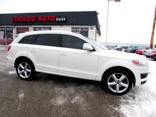 Used 2008 Audi Q7 3.6 Quattro S-Line Navigation Camera Certified 2YR Warranty for sale in Milton, ON