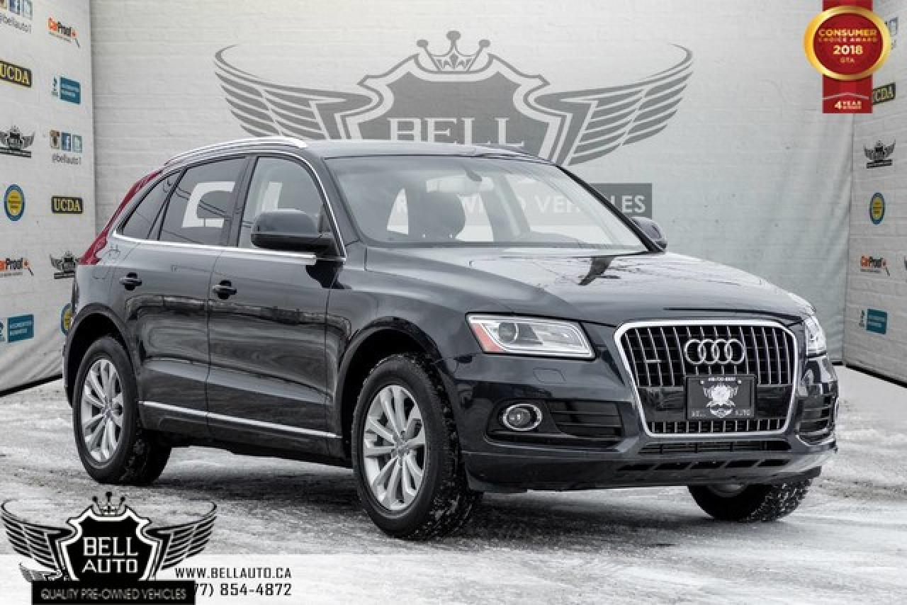 2014 Audi Q5 2.0L Progressiv, PANO ROOF, LEATHER, HEATED SEATS, BLUETOOTH