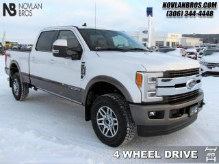 New 2019 Ford F-350 Super Duty King Ranch  - Navigation for sale in Paradise Hill, SK