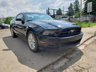 Used 2014 Ford Mustang V6 PREMIUM-305HP-LEATHER-LOW Monthly PAYMENTS!! for sale in Edmonton, AB
