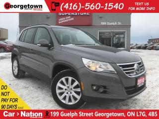 Used 2010 Volkswagen Tiguan 2.0 TSI Comfortline | AWD | CLEAN CARFAX | PANO for sale in Georgetown, ON