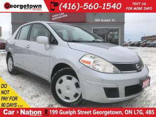 Used 2007 Nissan Versa 1.8SL | AUTO | ONLY 158K | PWR GRP | A/C for sale in Georgetown, ON