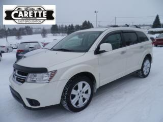 Used 2013 Dodge Journey R/T AWD CUIR-TOIT for sale in East broughton, QC