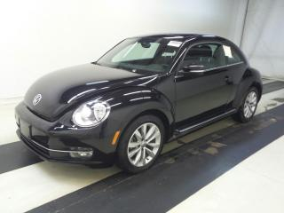 Used 2013 Volkswagen Beetle 2.0 TDI HIGHLINE ~ NAVI ~ SUNROOF ~ 45KMS !!! for sale in Burlington, ON