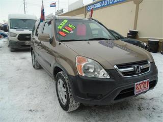 Used 2004 Honda CR-V EX for sale in Breslau, ON