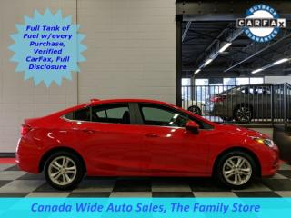 Used 2018 Chevrolet Cruze LT, Back Up Camera, Heated Seats for sale in Edmonton, AB