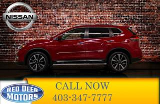 Used 2017 Nissan Rogue AWD SL Leather Roof Nav for sale in Red Deer, AB