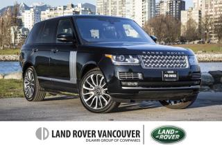 Used 2017 Land Rover Range Rover V8 Autobiography Supercharged SWB *Certified! for sale in Vancouver, BC