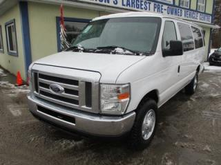 Used 2013 Ford E350 PEOPLE MOVING XL EDITION 15 PASSENGER 5.4L - V8.. FLEX FUEL.. CD/AUX INPUT.. REAR CLIMATE CONTROLS.. TOW SUPPORT.. ADVANCE TRAC RSC.. for sale in Bradford, ON