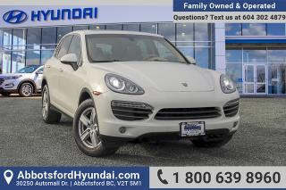 Used 2011 Porsche Cayenne S ACCIDENT FREE & BC OWNED for sale in Abbotsford, BC