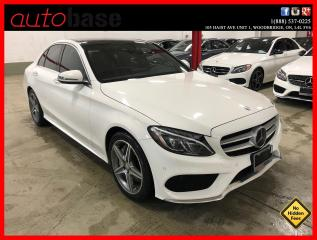 Used 2016 Mercedes-Benz C-Class C300 4MATIC INTELLIGENT DRIVE PREMIUM PLUS for sale in Vaughan, ON