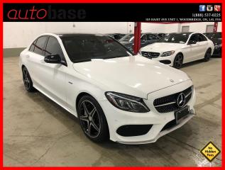 Used 2016 Mercedes-Benz C-Class C450 AMG 4MATIC PREMIUM LED RED INT! for sale in Vaughan, ON