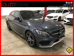 Used 2016 Mercedes-Benz C-Class C450 AMG 4MATIC PREMIUM LED for sale in Vaughan, ON