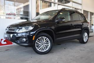 Used 2016 Volkswagen Tiguan édition Sp. 4motion for sale in St-Jérôme, QC