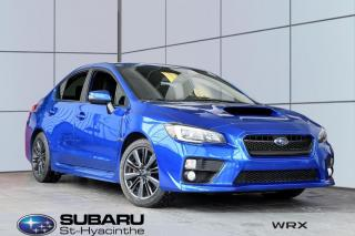 Used 2017 Subaru WRX Sport 4p. auto. for sale in St-Hyacinthe, QC