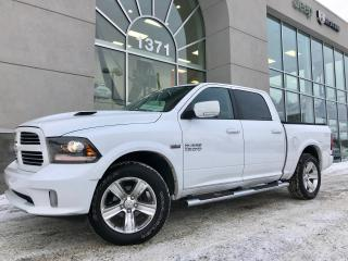 Used 2016 RAM 1500 Sport Crew Cuir Nav for sale in Ste-Agathe-des-Monts, QC