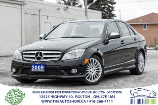 Used 2009 Mercedes-Benz C-Class AWD 2.5L SUNROOF NO ACCIDENTS CERTIFIED SERVICED for sale in Bolton, ON
