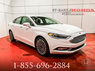 Used 2017 Ford Fusion FUSION AWD + SE + NAV + PROPRE !! for sale in St-Basile-le-Grand, QC