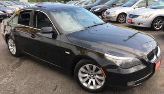 Used 2008 BMW 5 Series 4dr Sdn 528i RWD for sale in Scarborough, ON