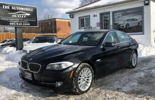 Used 2011 BMW 535xi 535i xDrive NAVI ONE OWNER SUNROOF NO ACCIDENT for sale in Mississauga, ON
