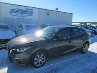 Used 2016 Mazda MAZDA3 SPORT AUTOMATIQUE AIR CLIM HATCHBACK for sale in St-Georges, QC