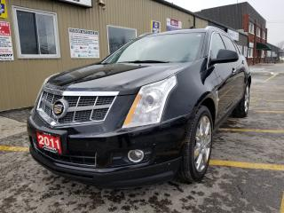 Used 2011 Cadillac SRX 3.0 Premium-AWD-NAVIGATION-LEATHER-PAN ROOF-BLUETO for sale in Tilbury, ON