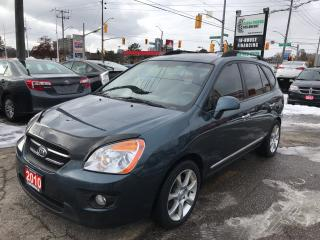 Used 2010 Kia Rondo EX w/3rd Row l Leather l Sunroof for sale in Waterloo, ON